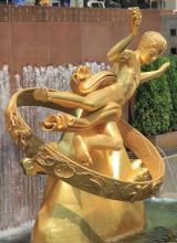 Zodiaque de Paul Manship New York