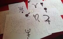 Création pour le programme d'astrologie Aujourdhui.com 2013